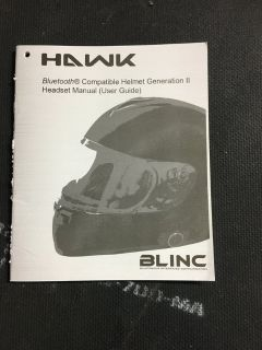 Hawk Full Face Modular Bluetooth Helmet