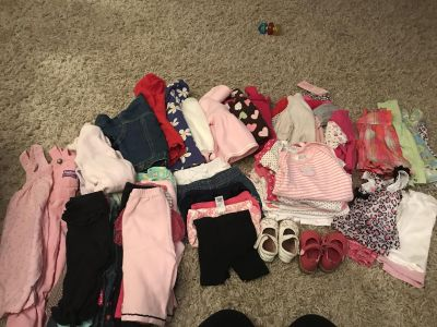 Girl clothes size 6-9 months