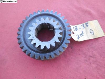 Porsche 911 915 transmission gear set 2nd speed