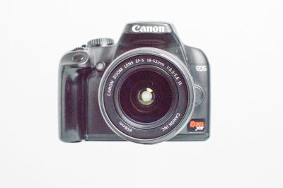 Canon EOS XS Camera with 18-55mm image stabilized lens