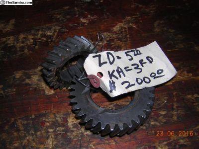 Porsche 901 ZD gear set