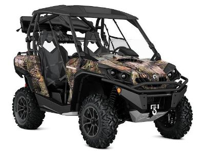 2017 Can-Am Commander 1000 Mossy Oak Hunting Edition Side x Side Utility Vehicles Leesville, LA