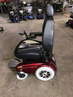 Merits Gemini Heavy Duty Power Wheelchair (Red) RTR# 8084242-01