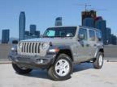 Used 2019 Jeep Wrangler Unlimited Sting-Gray Clearcoat, 260 miles