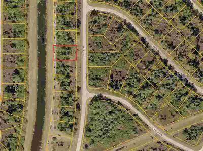 Custer Circle North Port, Vacant partially wooded lot