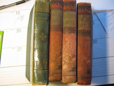 Louisa M Alcott collection
