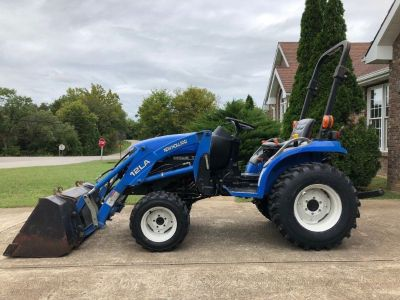 2003 New Holland TC18 4WD Compact Tractor
