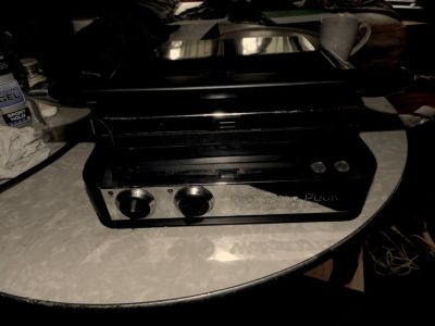 Wolfgang Puck 6-in-1 Reversible Contact Grill and Griddle