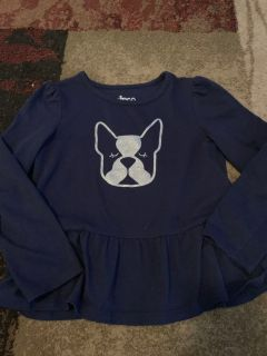 Circo 5t navy blue ls dog shirt - ppu (near old chemstrand & 29) or PU @ the Marcus Pointe Thrift Store (on W st)