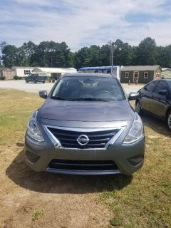 2018 Nissan Versa S Plus (Grey)