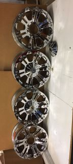 "F250 wheels, rims, knc xd778 monster 8x170 20"" 20x9"