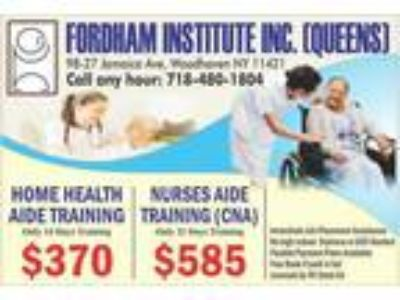 Cna and hha training/ cheap/ fast/ immediate job placement assistance