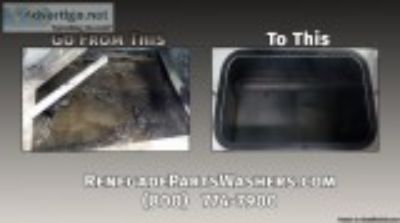 Renegade Parts Washer Filtration Systems