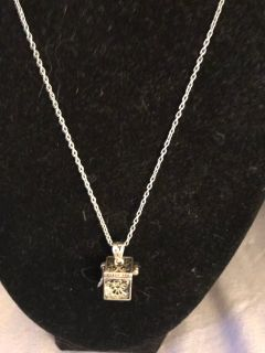 Necklace with angel box free