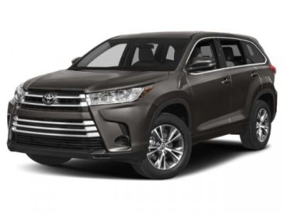 2019 Toyota Highlander LE Plus (White)