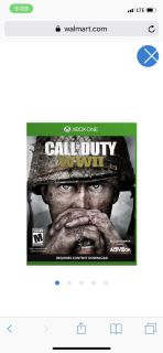 BRAND NEW!! CALL OF DUTY WW2 FOR XBOX 1