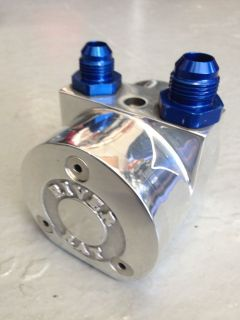 Mike Kuhl River Rat Water Pump- Billet Drives a Fuel Pump to