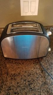 Sunbeam Stainless toaster practically new