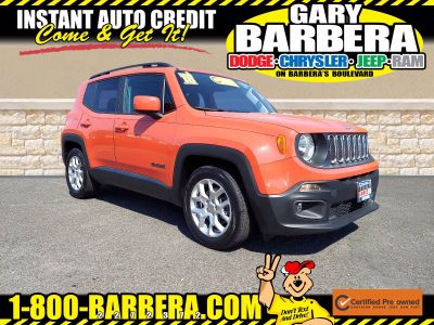 2018 Jeep Renegade Latitude (Omaha Orange)