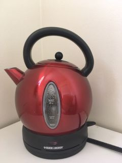 Black & Decker 1.7 L Stainless Steel Electric Cordless Kettle