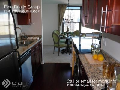 1130 S Michigan Ave - 0904 - 2 beds, 2 full baths