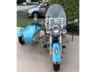 2000 Indian Chief Cruiser Sidecar Lights