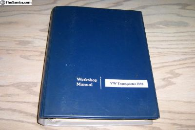 Original Dealership 1959 Bus Workshop Manual
