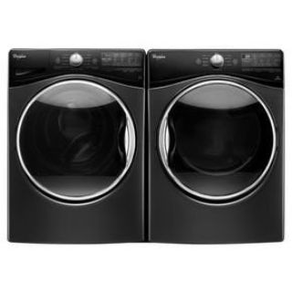 Whirlpool Front Load Washer & Dryer Pair in Black Diamond