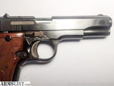 For Sale: Spanish Star S Super w/Camo Holster