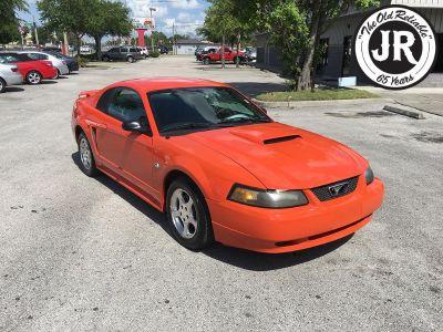 2004 Ford Mustang Base (Orange)