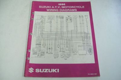 Buy SUZUKI ATV DEALER TECHNICAL SHOP MANUAL WIRING DIAGRAMS ATV'S/MOTORCYCLES motorcycle in Sunbury, Pennsylvania, United States, for US $49.95