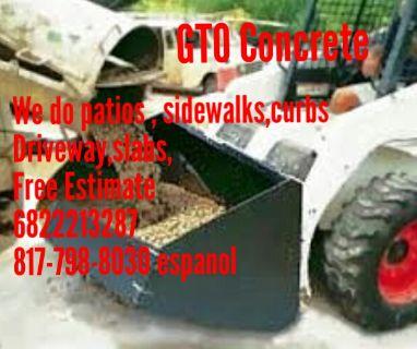 GTO concrete 682-221-3287
