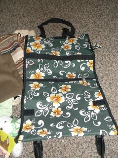 rolling shopping tote bag on wheels