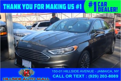 2017 Ford Fusion SE FWD (Magnetic)