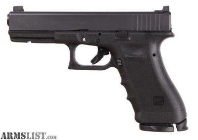 For Sale: Vickers Glock 17 Black RTF2 Frame