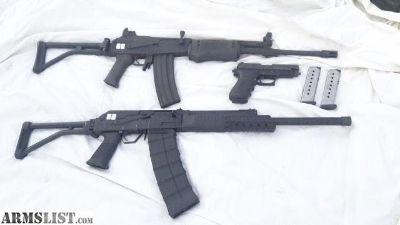 For Sale: Izhmash Saiga 12 AK-47 style Shotgun Golani Galil 5.56 .223 Rifle Sig P 220 .45 Pistol