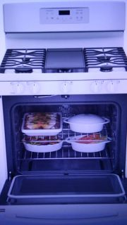 GE Gas Convection Oven/ Range