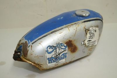 Purchase Honda XL350 1974 Gas fuel Tank motorcycle in Fort Worth, Texas, United States, for US $79.00