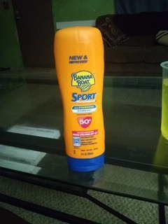Never used banana boat sunscreen