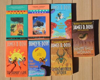 Lot of James D. Doss Native American Mysteries