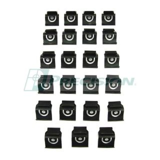 Purchase 1962 1963 1964 1965 Chevy II / Chevy Nova Back Window Trim Clip Kit - 23 pc. motorcycle in San Diego, California, United States