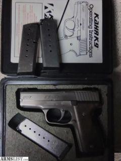 For Sale: Kahr k9 9mm