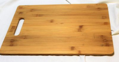 NEW Wood Cutting Board Kitchen Cook Bake Vegetables Meat Slice Cut Dice