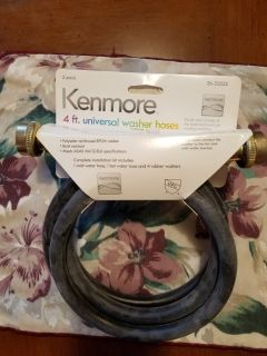 4FT UNIVERSAL WASHER HOSES (KENMORE)