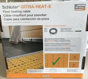 Schluter Ditra Heating Cable