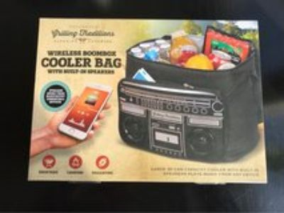 cooler bag with WiFi speakers