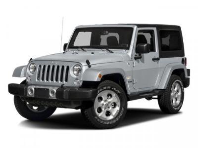 2016 Jeep Wrangler Sahara (Black Clearcoat)