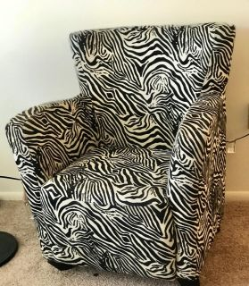 Zebra chair for sell