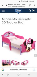 Delta kids minnie mouse toddler bed