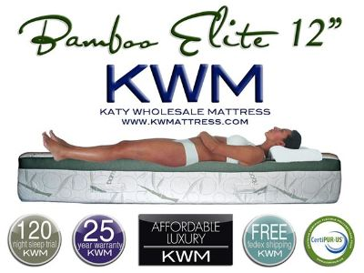 $379, Natural Bamboo-Infused Memory Foam Mattresses  Pillows  FREE FedEx Shipping  Pillows